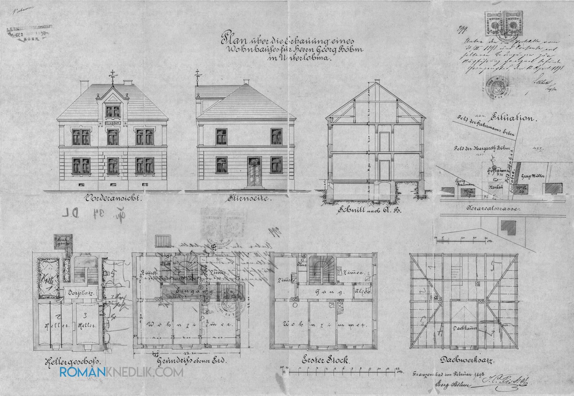Vila_Georg_Boehm_1898_bw